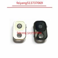 Samsung Galaxy Note 3 N9005 N9000 N9002 Beyaz / Siyah 10pcs% 100 Orijinal Arka Kamera Lens Kapağı Çerçeve Tutucu