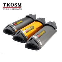 TKOSM Akrapovic Modified Exhaust Escape Moto Silencer 100cc ...
