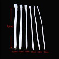 35cm Super Long Silicone Castità Dilatatori uretrali 6 formati selezionati Suoneria uretrale Plug Pene Stretching Sex Toys