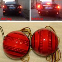 Alta qualità per Toyota Corolla 2007 2008 2010 2010 Riflettore LED Posteriore posteriore Paraurti Luce freno Lampada luce