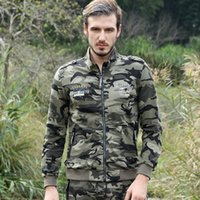 2017 Spring Fashion Camouflage Sweater Pants Tracksuits Men&...