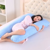 Wholesale- 130*80cm Body Pillows Sleeping Pregnancy Pillow B...