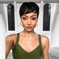 2017 New Arrival Capless New Stylish Short Straight lace wig...