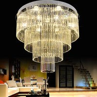 LED Modern Chandelier Lights Fixture K9 Crystal Chandeliers ...