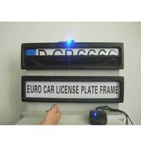 الشحن المجاني عن بعد لوحة سيارة لوحة ترخيص غطاء حامل الإطار تناسب السيارات EUROPE روسيا الستار مغلقة لوحة حجم الإطار 530 * 135 * 25MM