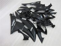 Spuitgieten Plastic Fairing Kit voor Yamaha YZF R6 08 09-15 Black Backings Set YZFR6 2008-2015 OT04