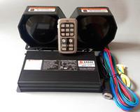 AS940 Двойной тонус 400W Беспроводная дистанционная полиция Сирена усилителей автомобиля Аварийная сигнализация с функцией микрофона +2 единицы 200W динамик