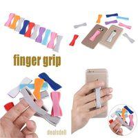 Сотовый телефон Безопасный палец держатель Универсальный противоскользящий ремешок для iPad Pro / Mini 4