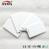 5YOA EM4305 T5577 125 khz Kart Kalın EM KIMLIK keyfobs RFID Etiket anahtarlık kart Erişim Kontrol Sistemi için Yakınlık Jetonu