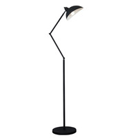 E27 Floor Reading Lamp Creative Modern Minimalist Floor Desk Light Metal Shade Standing Lamp for Bedroom