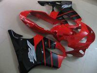 Fertigen Injection Motorradverkleidung für Honda CBR600 F4 1999 2000 rot schwarz fairings gesetzt CBR600F4 99 00