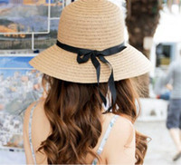 50pcs New Fashion Sun Hat Women' s Summer Foldable Straw...