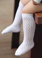 Çocuk Çorap Kızlar Oymak Çorap Çocuklar Şeker Renk Delik Bacak Çocuk Kaymaz Çorap Çocuk Tatlı Prenses Stocks T1728