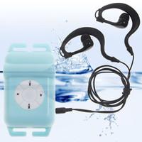 OKCSC 8GB IPX8 impermeable MP3 Radio FM + auricular MP3 con auriculares Conjunto de natación de verano