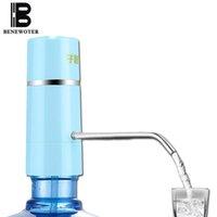 Gros-Facile Pompe Robinet D'eau Sans Fil Électrique Rechargeable Distributeur D'eau Batterie Bouteilles D'eau Potable Cuisine Drinkware Outil