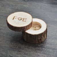 Custom Ring Box wedding valentines wooden ring box Wood Anni...