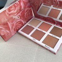 Макияж Rose Gold Highlighter Палитра Face Bronzers Highlighters 6 Цвет