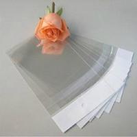 10 * 18cm 200pcs / lot Clear Soft Plastic Stockage Poly Sac pour cas de téléphone portable Pochette de paquet de détail pour cas de téléphone mobile