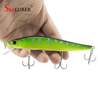 1PCS lot 14 cm 23. 7 g Fishing Lure Minnow Hard Bait with 3 F...