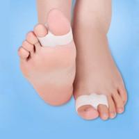 2 trous pieds soin des pieds gel orteils lisseurs separator hallux valgus bunion correcteur soulagement de la douleur livraison gratuite za1908