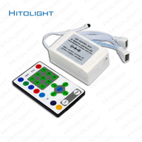 HITOLIGHT 12V 25 Tasten LED HORSE RUNNING Controller IR Fernbedienung für 5050 54 Light HORSE RACE LED Streifen 27A 324W