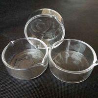 5 cm Durchmesser Wachs Glasgeruch Raucher Werkzeug Container Aschenbecher Aschefänger Schüssel Für Wasser Bong-Wasserhaare Öl Rig-Schüsseln