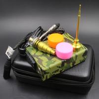 Kit del chiodo di alta qualità e digitale con Kavlar Coil PID Temperature Control Box Mod digitale olio essenziale vaporizzatore Kit per bong vetro