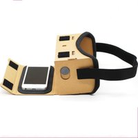 Google Vr Cardboard Wearing Style Virtual Reality Carton 3D ...