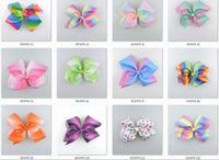 10pcs 18 centímetros jojo Pastel flora ombre fita arcos de cabelo clips jacaré cabelo do arco-íris listrado Dança Cheerleader Pageant borbotos Acessório HD3476