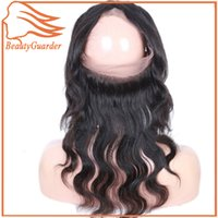 Beautyguarder Factory Top Quality 360 Lace Frontal closure Cierre frontal del cabello humano Brasileño Body Wave Virgin Hair