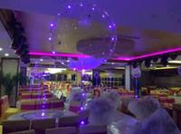 22Inch Blitzlicht leuchtende LED-Ballon bunte transparente runde blasen dekoration party hochzeit ballone beleuchtung in dunkler 3m string