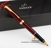 Free Shipping Parker roller Pen School Office Supplies red p...