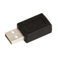 도매 500pcs / lot USB 2.0 유형 남성 미니 5pin USB B 유형 5pin 여성 커넥터 어댑터 변환기