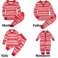 New Family Matching Outfits Christmas Clothing Cotton Mom Da...