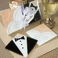 Indische Hochzeit Rückkehr Geschenke Braut und Bräutigam Glas Coaster Tischsets Cup Mat Casamento Hochzeit Souvenirs Gäste 20 Stücke (10 Sätze)