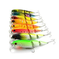 Wholesale 8pcs lot Jointed Sections Fishing Lure Lifelike Hard Bait Artificial Lures10.5cm 14g Free Shipping