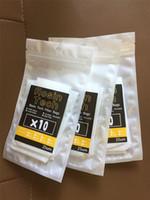 Sacchetto filtro per tè da 160 micron 2,5x4 nylon a rosetta