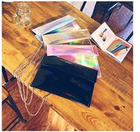 50pcs Pink Silver Holographic Hologram Purse Pouch Cross Bod...