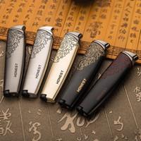 Kühles Design des ehrlichen Skylark-Jet-Fackelstrahlfeuerzeugflammen-windundurchlässigen Feuerzeugs für rauchendes Gebrauchsmetall Zigarrenfeuerzeug