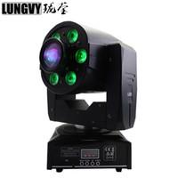 30 W LED Spot + 6x8 w Luz de Lavagem DMX512 Moving Head Light Profissional DJ / Bar / Festa / Show / Stage Luz