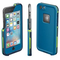 Haute qualité Iphone 6 4.7 versions Waterproof Case Water Proof Cover avec le paquet de détail 4 couleurs DHL free