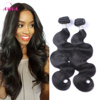 Brazilian Virgin Human Hair Weave Bundles Body Wave Unproces...