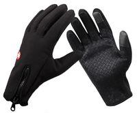 Nuevo Llega el deporte de invierno tapón de viento guantes de esquí impermeables guantes de equitación guantes de moto