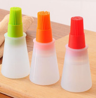 BBQ Silicone Oil Brush New Silicone Cooking Oil flavour Bott...