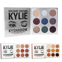 Newest Holiday edition Kyshadow THE BURGUNDY PALETTE Kylie C...