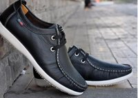 Men Genuine Leather Shoes 2015 Fashion Mens Sneakers Casual ...