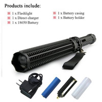 Baseball Bat lanterna powerful telescoping cree xml L2 led f...
