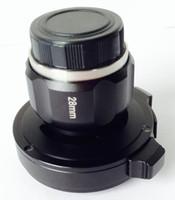 28mm coupleur endoscope HD, CCD lentille HD et adaptateur caméra endoscope, Oreille de champ d'application, nez et gorge, Gastroscope, par Freeshipping Fedex