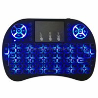 sell 1 Quality multi- color backlight keyboards rii i8 fly ai...