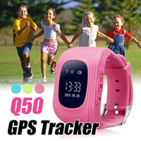 Q50 GPS Tracker for Child Kid Smart Watch SOS Call Anti- lost...